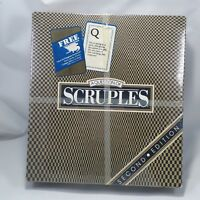 Question of SCRUPLES Party Game 2nd Edition The Moral Dilemma Board Game SEALED