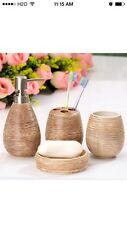 CERAMIC WEDDING BATHROOM DECORATION, SANITARY WARE BATHROOM ACCESSORIES 13001