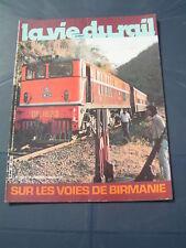 vie du rail 1984 1927 BURMA RAILWAYS MYANMAR GENEVE automotrices BUDD Z 3700