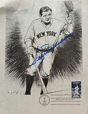 Ted Williams Autograph on a Babe Ruth First Day Cover - WHAT?!