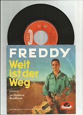 FREDDY QUINN Weit Ist Der Weg, orig German vinyl 45 w/pic sleeve, 1960's, VG+/VG