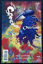 THE SANDMAN OVERTURE #1 NM- 9.2 Extra Sized Issue Vertigo 1st Printing Gaiman