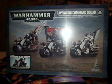 WARHAMMER 40K DARK ANGELS RAVENWING COMMAND SQUAD BLACK KNIGHTS - NEW & SEALED