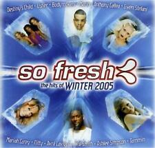 SO FRESH Hits Of Winter 2005 CD - Will Smith Usher Nitty Avril Lavigne Shakaya