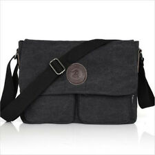 Hot Vintage Men's Canvas Messenger Shoulder Bag Military Crossbody Bags Satchel