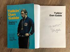 """Talkin' Dan Gable"" by Stephen T. Holland  - SIGNED by Dan Gable"