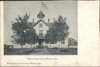 Moosup CT Graded School c1905 Postcard