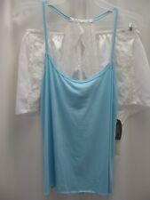 NEW SECRET TREASURES bridal polyester blend 2 piece short/cami sleepwear, sz S
