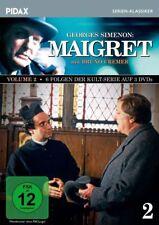 MAIGRET  VOL.2 - BRUNO CREMER, NACH GEORGE SIMENON 3 DVD NEU