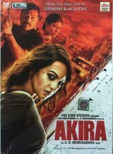 AKIRA - OFFICIAL BOLLYWOOD DVD *SONAKSHI SINHA - FREE POST