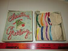 Vintage Handmade, Sewing, Crochet, Knitting, Doll Hats? 8 Total, Needlepoint