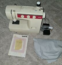 Pre Owned BROTHER VX-1100 Portable Sewing Machine, Foot Pedal, Cover Full...