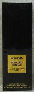 TOM FORD...TOBACCO VANILLE - All Over Body Spray 150 ML 4 oz in Box