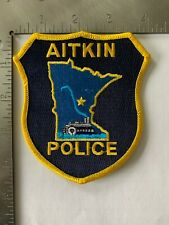 AITKIN POLICE PATCH