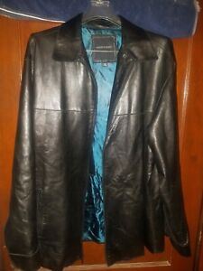 andrew marc mens leather jacket