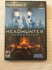 HeadHunter Redemption ( Sony PlayStation 2 ) PS2  Complete W/Case & Manual  CIB