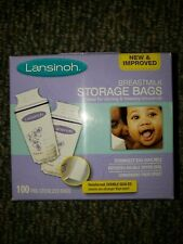 Lansinoh Breastmilk Storage Bags, 100 count, new package