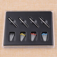 1 Box Dental Fiber Set 20Pcs Thread Fiber Post & 4 Drills Screw Dentist Product