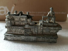 Vintage Die Cast Metal Military Boat Ferry Toy Replica