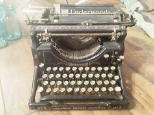 Vintage Underwood Standard Typewriter No 5