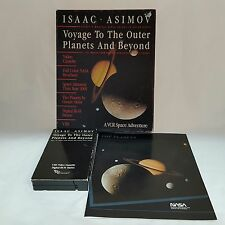 Voyage To The Outer Planets And Beyond Space Adventure Isaac Asimov VCR 1987