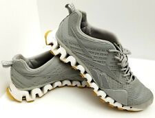Reebok Zigtech Trail 3D Exocage Running Shoe Sneaker Gray Mens Sz 11.5 EUC