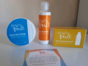 Beauty Vault Ultimate Bleaching Face And Body Set. New product. FDA Approved.