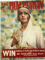 ABC Film Review Magazine March 1972 - Twiggy - Liz Romanoff Centrefold