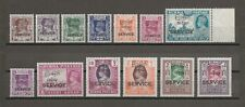 BURMA 1939 SG O15/27 MNH Cat £250