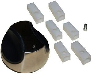 Gas Grill Universal Chrome Knob with Multiple Shafts for Different Grills  02342