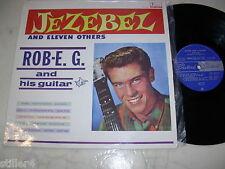 ROB E.G. Jezebel & Eleven Others *MEGARARE AUSTRALIA 60s SURF BEAT*FESTIVAL MONO