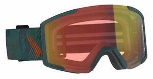SCOTT Shield LS Goggle - Light Sensitive Photochromic Lens + Protective Sleeve