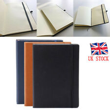 A5 Plain Sketching Journal Ivory Colour 192 Page Paper Notebooks Soft Diary UK