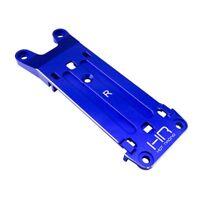 Hot Racing XMX09M06 Blue Aluminum Rear Pin Mount Tie Bar Traxxas X-Maxx 6S & 8S