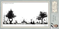 Sentimentally Yours Secret Woodland Pre-Cut DL Rubber Stamp Phil Martin