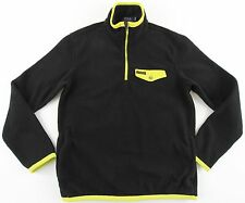 Men's POLO RALPH LAUREN Black Yellow Fleece Sweater Jacket XXL 2XL NWT NEW