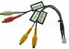 CLARION NX-605 NX605 GENUINE AV IN / VIDEO OUT RCA HARNESS