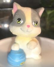 Kitty in My Pocket Series 2: Calico, Kiki, with Fish Bowl