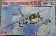 "NEW OLD STOCK ESCI 1: 48 SCALE "" USAF 3A VIKING C.O.D "" JET MODEL PLANE KIT 4053"