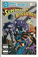 DC COMICS PRESENTS # 89 (Superman vs. The Omega Men, Jan 1986), VF/NM