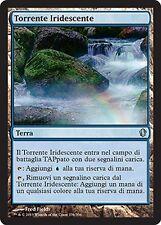 2x Torrente Iridescente - Vivid Creek MTG MAGIC C13 Commander 2013 Ita