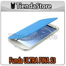 Funda FINA compatible GALAXY S3 I9300 Carcasa delgada protector pantalla AZUL