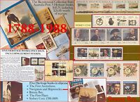 Australia 1988 Full Bicentennial Stamps Collection SET in Heritage Books +Cover