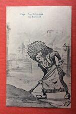 CPA. 1930. Illustrateur OCHS. Liège. Une Botteresse.