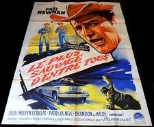 1963 Hud ORIGINAL French One-Panel 1p POSTER Paul Newman