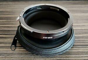 Adapter Pentax 67 lens For Mamiya 645 - NEW