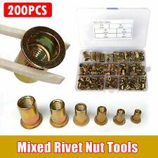 8mm Acciaio Inox Svasati RIVNUT Nutsert Qtà 25