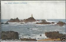 Jersey Corbiere Lighthouse  Old Unposted Postcard