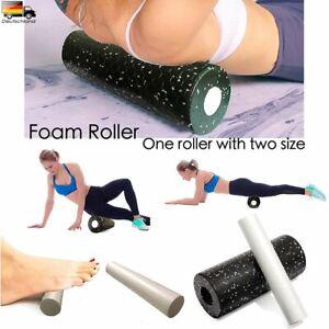 1 Set Roll Medium Faszienrolle Massagerolle Fitness Sport Yoga Pilates Black