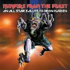 NUMBERS FROM THE BEAST - ALLSTAR TRIBUTE TO IRON CD NEW